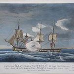"image of ""Capture of H.B.M. Sloop of War <i>Frolic</i> By the U.S. Sloop of War <i>WASP</i>"""