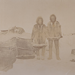 image of Inuit Man and His Wife, 1895