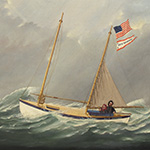 image of Painting of Whaleboat <em>New Bedford</em>