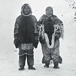 image of Aivilik Inuit Couple in Winter Dress