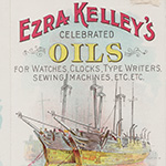 image of Ezra Kelley's Celebrated Oils