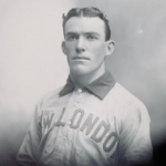 image of Portrait of a Man in New London Baseball Uniform
