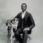"image of Portrait of ""Edw. Wiggins"" and Dog"