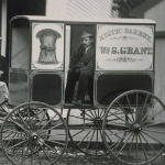 image of William S. Grant's Bakery Wagon, Mystic, CT  1868