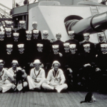 image of Sailors on the Deck of Monitor Class Gunboat