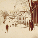 image of Stereograph Card of Main Street, Mystic CT