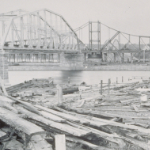 image of Railroad Bridge on the Thames River at New London