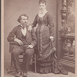 image of Portrait of Captain and Mrs. Crapo