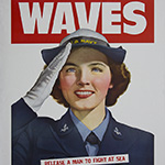 image of World War II WAVES Recruiting Poster