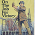 "tumbnail of: Recruiting poster, ""On the job for victory"""