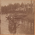 tumbnail of: Alaskan Indian Canoes Stereograph Card